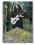 Jerry At The Pyramid In The Woods Spiral Notebook