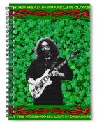 Jerry Clover 3 Spiral Notebook