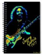 J G 1977 Spiral Notebook