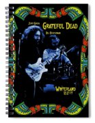 J G And B K At Winterland In 1977 Spiral Notebook