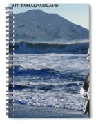 Jerry Garcia At Mt Tamalpaisland 2 Spiral Notebook