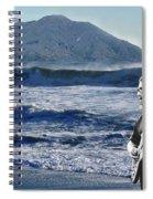 Jerry Garcia At Mt Tamalpaisland 3 Spiral Notebook