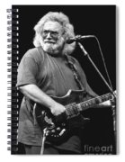 Jerry Garcia Band Spiral Notebook