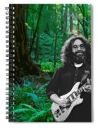 J G In Muir Woods Spiral Notebook