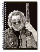 Jerry Garcia String Beard Guitar Spiral Notebook