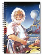 Jerry Garcia Live At The Mars Hotel Spiral Notebook