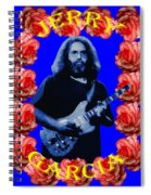 Jerry In Blue With Rose Frame Spiral Notebook