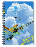 Jerry In The Sky With Love Spiral Notebook