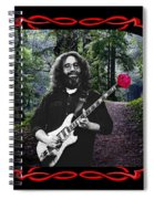 Jerry Road Rose 2 Spiral Notebook