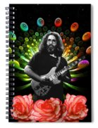Jerry Spacepods Ufo Roses 1 Spiral Notebook