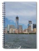 Jersey City And Hudson River Spiral Notebook