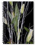 Jersey Lilies Spiral Notebook