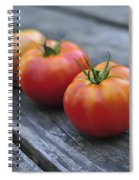 Jersey Tomatoes  Spiral Notebook
