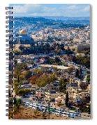 Jerusalem Spiral Notebook
