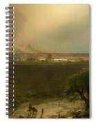 Jerusalem From The Mount Of Olives Spiral Notebook
