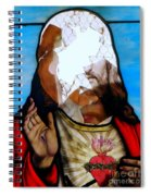 Jesus Abstract Spiral Notebook