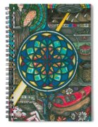 Jesus And The Hotdog Spiral Notebook