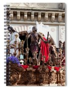 Jesus Christ And Roman Soldiers On Procession Spiral Notebook