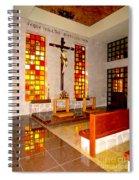Jesus Christ Chapel Spiral Notebook