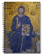 Jesus Christ Mosaic Spiral Notebook