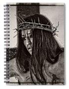 Jesus Christ Portrait Spiral Notebook
