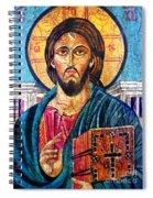 Jesus Christ The Pantocrator I Spiral Notebook