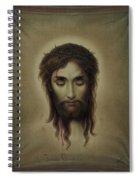 Jesus Christus Portrait By Martie Circa 1876 Spiral Notebook