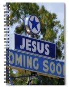 Jesus Coming Soon Spiral Notebook