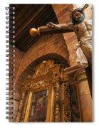 Jesus In Barichara Spiral Notebook