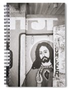 Jesus In Mumbai Spiral Notebook