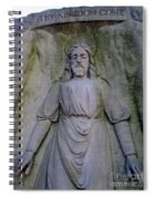 Jesus In Repose Spiral Notebook