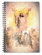 Jesus Loves You 2 Spiral Notebook