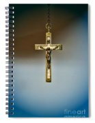 Jesus On The Cross 4 Spiral Notebook