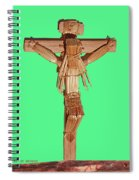 Jesus On The Cross In Mexico 1925 Spiral Notebook