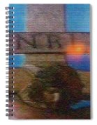 Jesus On The Cross Mosaic Spiral Notebook