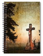 Jesus On The Cross Spiral Notebook