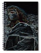 Jesus Preaching On The Mount Spiral Notebook