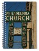 Jesus Saves Spiral Notebook