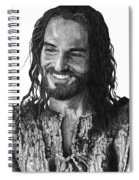 Jesus Smiling Spiral Notebook
