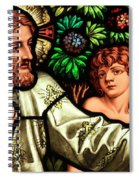 Jesus With Children Spiral Notebook