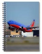 Jet Chicago Airplanes 17 Spiral Notebook
