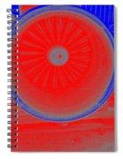 Jet Engine 3 Spiral Notebook
