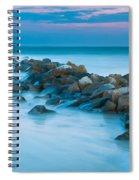 Jetty Sunset Spiral Notebook