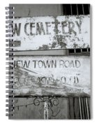 Jew Town In Cochin Spiral Notebook