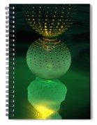 Jeweled Astrophytum  Spiral Notebook
