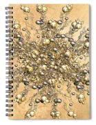 Jewels In The Sand Spiral Notebook