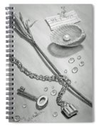 Jewels Of Love Spiral Notebook