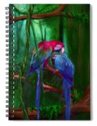 Jewels Of The Jungle Spiral Notebook
