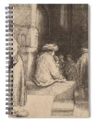 Jews In The Synagogue Spiral Notebook