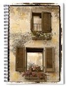 Orvieto Window Polaroid Spiral Notebook
